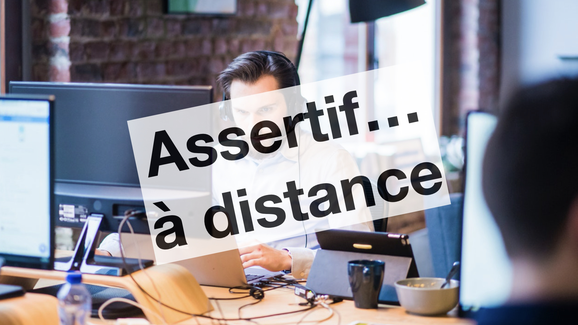 formation conférence management à distance télétravail